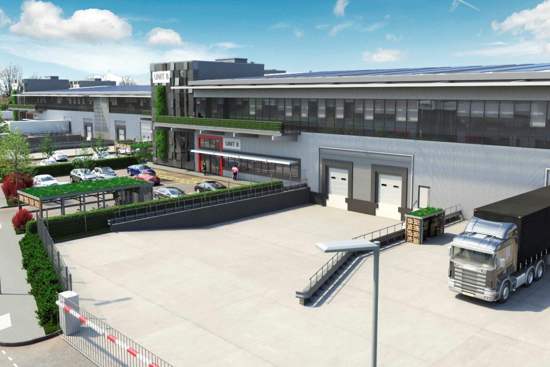 SEGRO industrial park in Tottenham